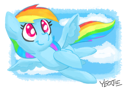 Rainbow Dash by Jonah-yeoj