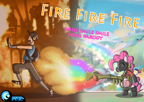 Fire Fire Fire by AZ-Derped-Unicorn