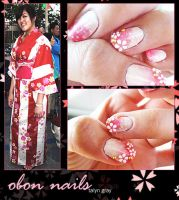 Obon Nails by toku