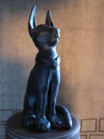 Egyptian Cat - view 1 by HylianJean