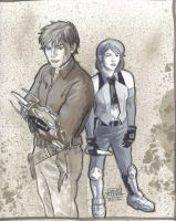 Hal and Kaylee by Roguehill