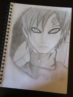 Gaara of The Sand by mochiprincess