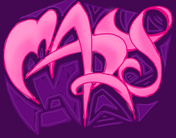 Graffiti Name - Mary by the-rose-of-tralee