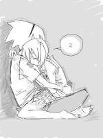 maka x sleeping by thepapermouse