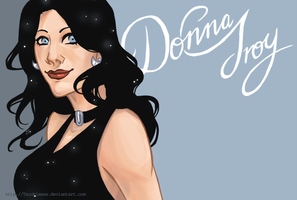 Donna doodle by tacokisses