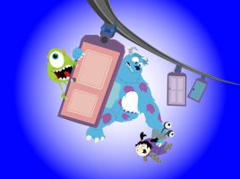Monsters Inc. by rgartland