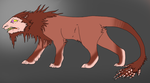 This manticore by FeralAsar