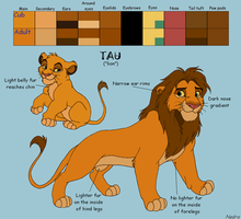 Tau Ref Sheet by HydraCarina