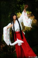 Kikyo with Soul Collectors Cosplay by firecloak