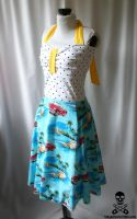 BEACH BUNNY swing dress 4 by smarmy-clothes