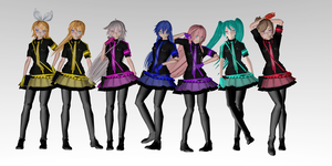 MMD Love Is War Models [GIRLS] DOWNLOAD by ChiharuYuuka