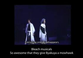 Bleach musical motivational poster by kittypetro