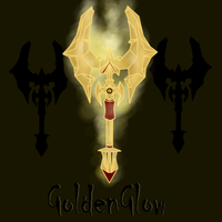 RWBY Wep - GoldenGlow by CuriousInferno