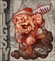 PIGSY :: you big fat swine by Red-J
