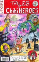 Tales of Chibi Heroes #1 Cover - Will Egli by SurfTiki