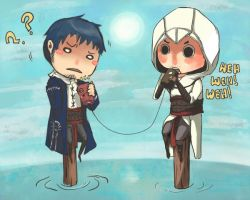 SOS CALLING: Malik Altair by Kittyjohl