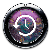 Dark TimeMachine Icon by jshort81