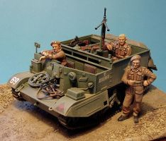 Tamiya 1:35 Brenn Carrier by Low688