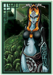 Con: MiniPrint Midna by Ink-Hound