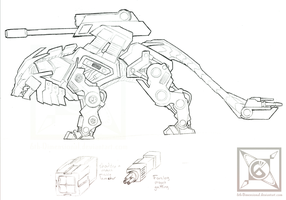 Liger Zoid - Bombardment Unit by 6th-Dimensional