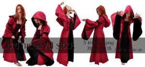 Medieval red pack by Meltys-stock