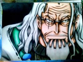 Silvers Rayleigh One Piece by AkaSasori99