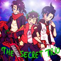 The Secret Trio- brothers under the spotlight by Washichan