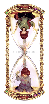 Undertale: Time by Qin-Ying