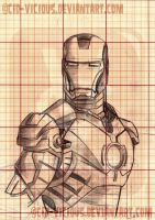 Iron Man by Cid-Vicious