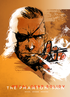 Commission - Metal Gear Solid Poster by AenTheArtist