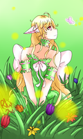 Acacia Easter [contest entry] by Black-Blood-Raven