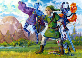 Legend of Link! by Xhiara