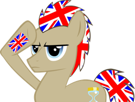 Dr Whooves Spirited Salute by RedtoxinDash