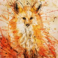 Splatter Fox by Jillybean345