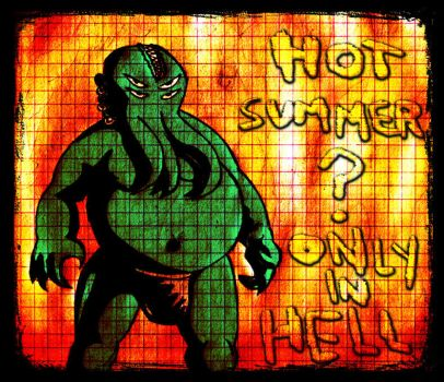 summer in hell by noise-fetish