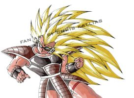 Super Saiyan Raditz - Drawing only by kalliasx