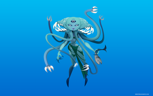 Scylla by Firebluegraphics