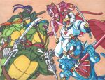 Teenage Mutant Ninja Turtles vs Samurai Pizza Cats by RobertMacQuarrie1