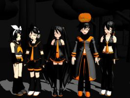 My Halloween Models by luckymasie