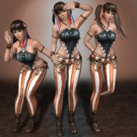 Dead Or Alive 5 Lei Fang 7 by ArmachamCorp