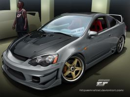 Honda Integra Toon by EmreFast