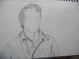 Faceless Bruce Banner by Armadeo