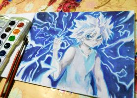Killua by 12L4e172s3s