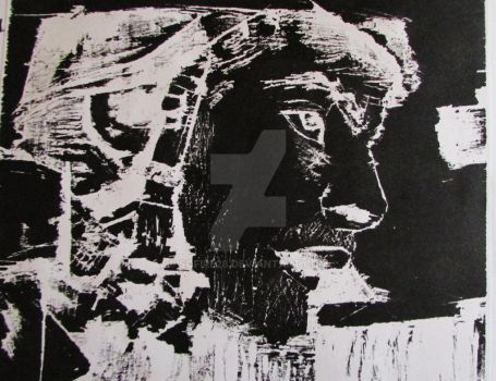 Soldier Woodblock by sofire28