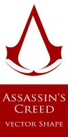 Assassin's Creed Vector Shape by Retoucher07030