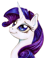 Rarity by GingerFoxy