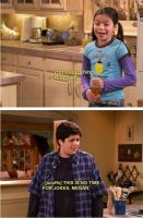 Drake And Josh Funny Moment by Yvesia