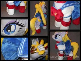 SAILOR MOON pony detailed by MLPT-fan