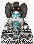 Lady Turquoise by verreaux