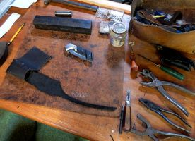 Sheath-making by HundredHands